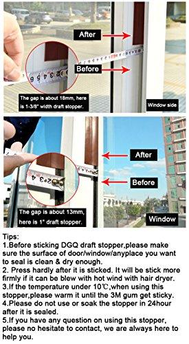 DGQ Door Bottom Draft Stoppers Durable Door / Window Seal Draft Blocker- - Insulate Your HomeBedroomChildren Room ...  sc 1 st  Building Supply Store & Door Bottom Draft Stoppers Durable Door / Window Seal Draft Blocker ...