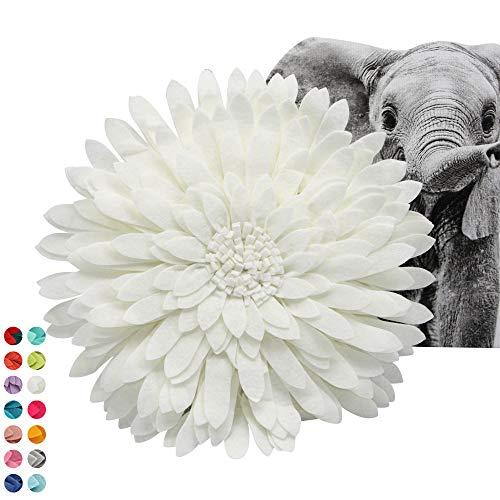 Flower Decorative Pillow 3D