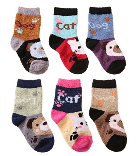 SDBING Super Fuzzy Thick Socks