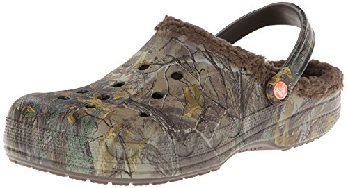 crocs Men's 15845 Baya Lined Clog,chocolate/chocolate,8 M US (Insulated Crocs compare prices)