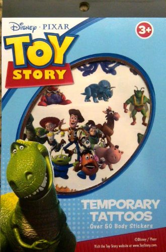 Toy Story Temporary Tattoo Book Party Accessory -