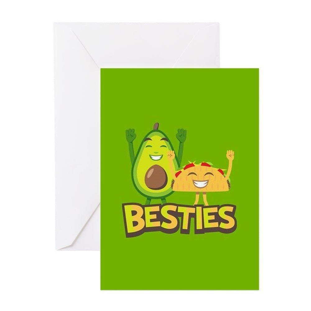 Amazon.com: CafePress – Emoji aguacate Besties – Tarjeta de ...