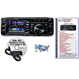 Bundle - 4 Items: Includes Yaesu FT-991A HF/VHF/UHF All-Mode Transceiver, RT Systems Programming Software/Cable Kit, Nifty! Mini-Manual and Ham Guides TM Quick Reference Card!!