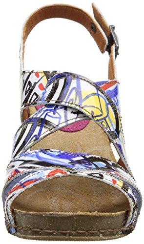 Art I Feel 235 - Zapatos de Vestir de cuero mujer Multicolore (Box)