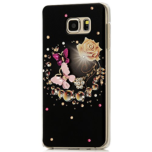 Galaxy Note Case Butterfly Champagne