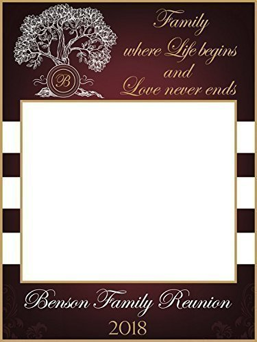 Amazoncom Family Get Together Booth Family Tree Photo Prop