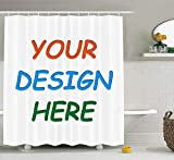 Design Your Own Shower Curtain Professional Custom Shower Curtain (69x70'' Shower Curtain)