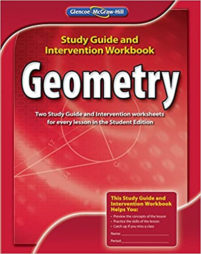 Amazon.com: Geometry, Study Guide and Intervention Workbook ...