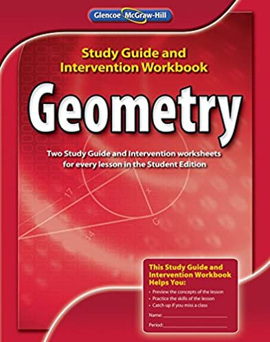 Glencoe Mcgraw Hill Geometry Study Guide Various Owner Manual Guide