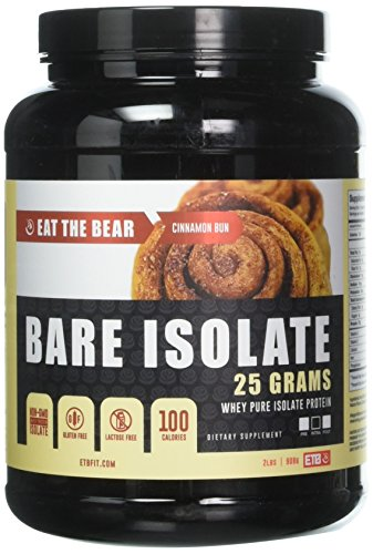 Replacement Grizzly (ETB Eat The Bear Grizzly Protein, Cinnamon Bun, 2 Pound)
