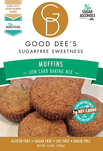 Good Dee's Muffin Mix - Low-carb, Sugar-free, Gluten-free, Grain-free, Soy-free!