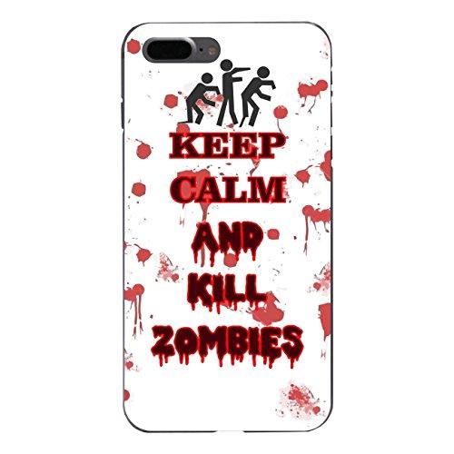 """Disagu Design Case Coque pour Apple iPhone 7 Plus Housse etui coque pochette """"KEEP CALM AND KILL ZOMBIES"""""""