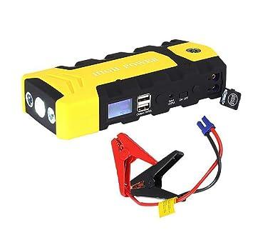 ... Arranque Emergencia 12V Arranque Dispositivo USB SOS Luz Móvil Poder Banco Coche Cargador para Coche Batería Booster: Amazon.es: Deportes y aire libre