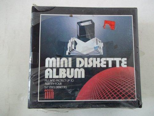 Acco Mini Diskette Album 5 1/4