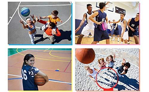 Layup Meteor Palla Basket Pallone da Basket Palla da Basket Basketball Taglia 5 o 6 o 7 Dimensione Bambini /& Giovani /& Adulti da Basket Ideale per Formazione Pallacanestro