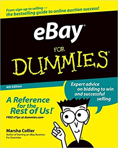 Ebay For Dummies Collier Marsha 9780764556548 Amazon Com Books