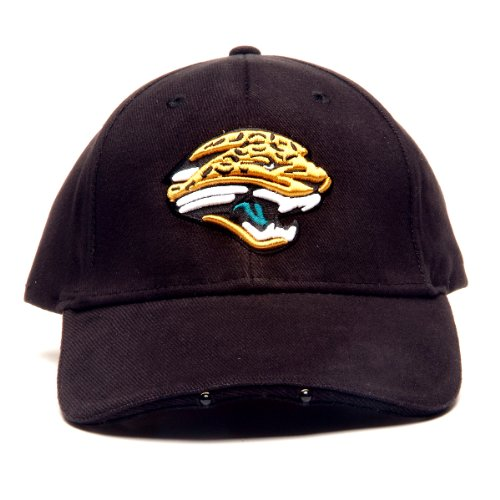 NFL Jacksonville Jaguars Dual LED Headlight Adjustable Hat