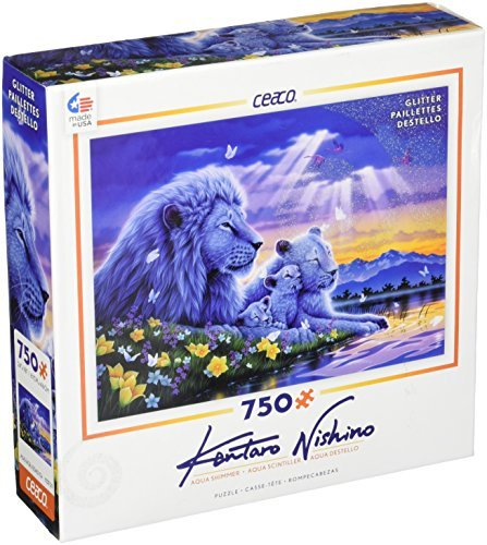 Ceaco Aqua Shimmer Happiest Moment Puzzle (750 Piece) by Ceaco