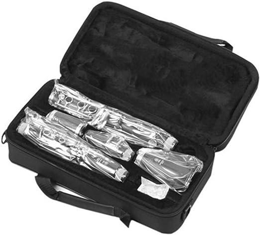 Clarinetes Instrumentos B Planos Madera compuesta Alto Rendimiento Instrumentos Musicales de Viento de Madera Ajustable: Amazon.es: Hogar