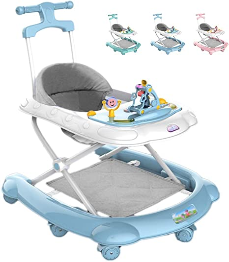 With Activity Tray Boy Girl Baby 6-18 Months Spoon Walker,Baby Trend Walker Easy to Fold Adjustable Seat Height