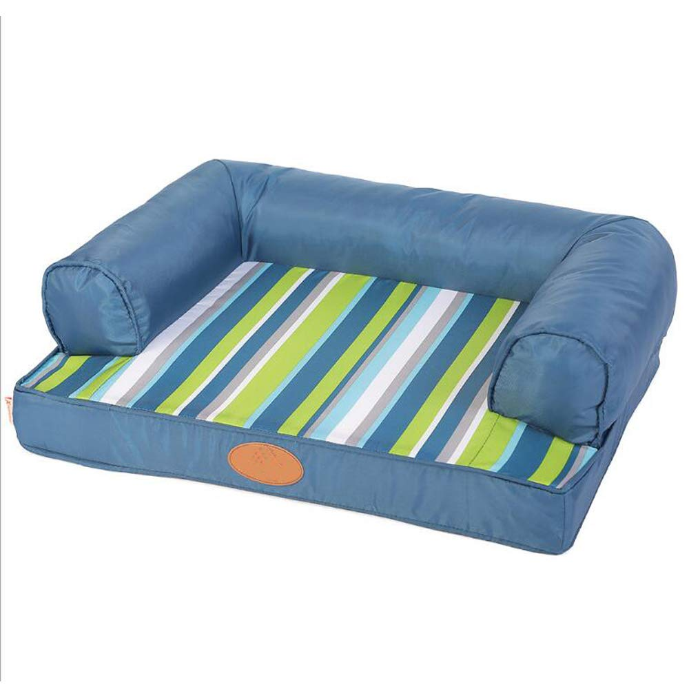 Medium ACLBB Dog Bed, Memory Cotton Pet Dog Sofa, Non-Slip Resistant To Tear Bite Can Be Washed Pet Dog Basket Bed Mattress,M
