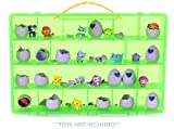 My Egg Crate Storage Organizer By Life Made Better - Compatible with the Hatchimals and Hatchimal Colleggtibles brands - Durable Carrying Case For Mini Eggs, Easter Eggs & Speckled Eggs Green