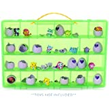 Life Made Better My Egg Crate Storage Organizer By Compatible with the Hatchimals and Hatchimal Colleggtibles brands - Durable Carrying Case For Mini Eggs, Easter Eggs & Speckled Eggs –Green