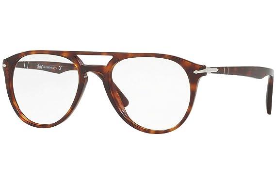 b91bb82bf7 Amazon.com  Persol PO3160V Eyeglasses 50-18-145 Havana w Demo Clear ...