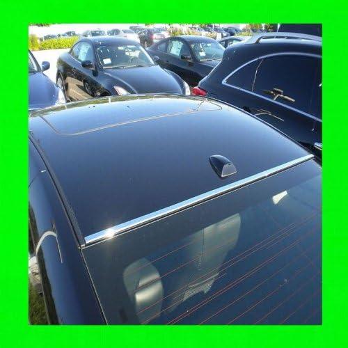 312 Motoring fits 1998-2005 Lexus GS300 GS 300 Chrome Front//Back ROOF Trim MOLDINGS 2PC 1999 2000 2001 2002 2003 2004 98 99 00 01 02 03 04 05