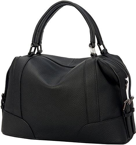 Tote Bags for Leather Body Ladies Shoulder Bag Cross Black Iswee Satchel Women Handbag Fashion Bag rxwTrqPS