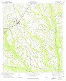 1973 omega - Georgia Maps   1973 Omega, GA USGS Historical Topographic Map  Fine Art Cartography Reproduction Print