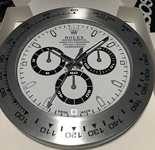 REPLICA ROLEX 35 MM DA MURO DAYTONA METALLO MOVIMENTO SILENZIOSO   Amazon.it Casa e cucina