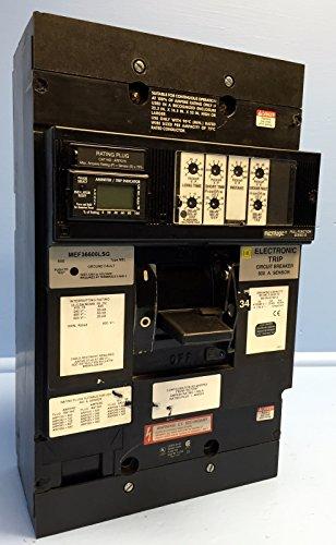Square D MEF36600LSG 600 Amp Circuit Breaker 600V MEL S5B 800A Ground Fault LSIG