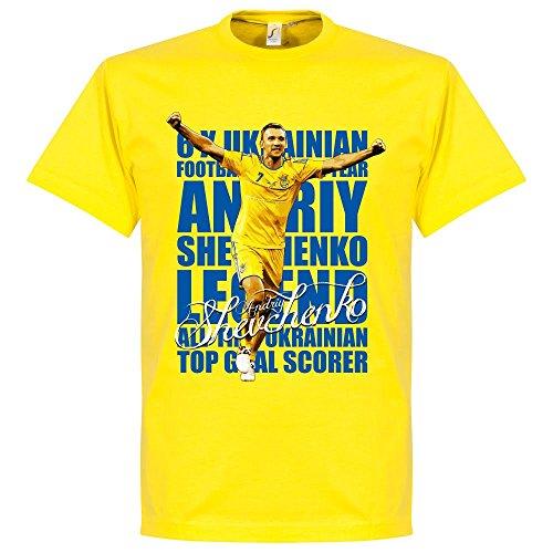 Shevchenko Legend T-Shirt - gelb