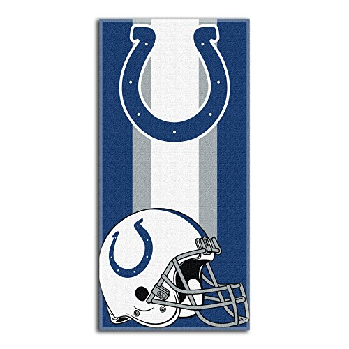 The Northwest Company Officially Licensed NFL Indianapolis Colts Zone Read Beach Towel, 30
