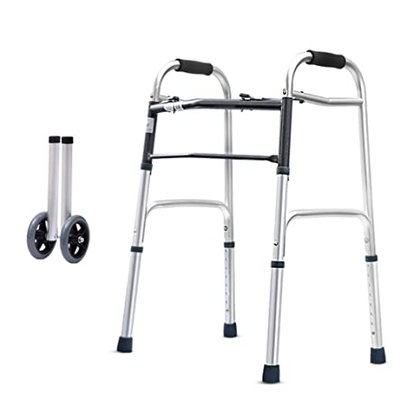 Walker Andador Plegable Aleación De Aluminio Ajustable Marco ...