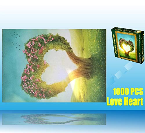 wlk 1000 pieces - The heart nature Jigsaw Puzzle Intellectual game adults kids]()