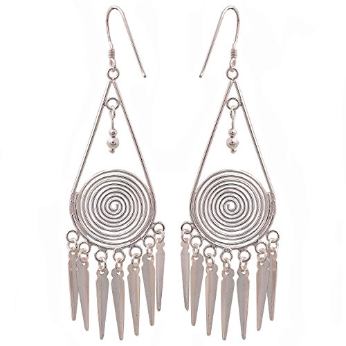 Verynice Dangle Earrings 925 Sterling Silver