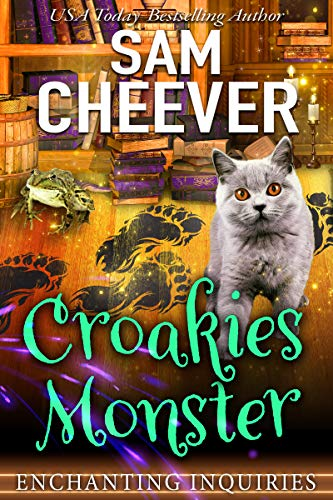Croakies Monster (Enchanting Inquiries Book 7) by [Cheever, Sam]
