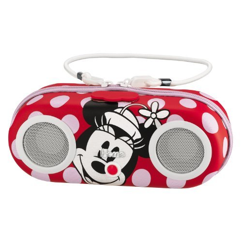 Minnie Water Resistant Portable Stereo-Audio/Video/Electronics-iPod Docks and Ac