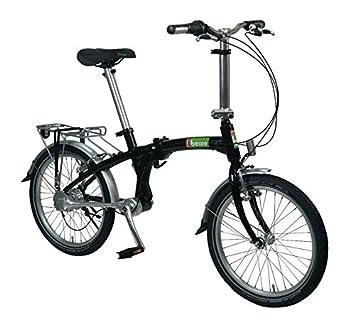 Beixo bicicleta plegable con cardan - Compact Black