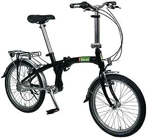 Beixo bicicleta plegable con cardan - Compact Black: Amazon.es: Deportes y aire libre