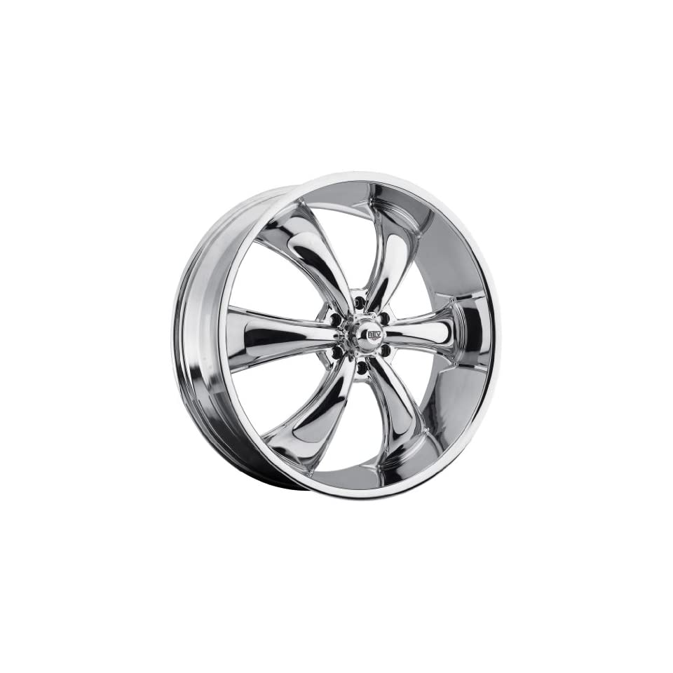 26 inch 26x9 Rev 105C chrome wheel rim; 6x5.5 6x139.7 bolt pattern with a +30 offset. Part Number 105C 2698330