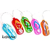 LIDORE 20 counts Flip Flop Party string lights. Best summer ambiance lighting for outdoor and indoor party decoration. 1.Set of 20 LED lights 2.Warm white 3.3AA Battery operated