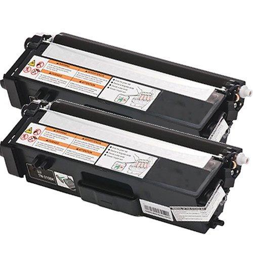 2 Pack TN315 Black Compatible Laser Toner Cartridge For Brother HL-4140CN, HL4150cdn, HL4750cdw, HL4750cdwt, MFC9460cdn, MFC9465CDN, MFC9560cdw, MFC9970cdw, DCP9055CDN