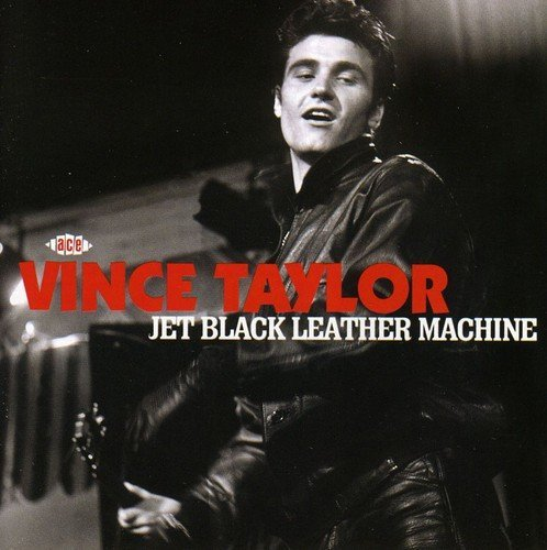 Black 02 Machine - JET BLACK LEATHER MACHINE by VINCE TAYLOR (2009-02-10)