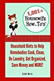 """You don't need to be a housewife to appreciate these frugal, easy solutions to everyday problems! Katie Berry is the author behind """"Housewife How-To's®"""", a blog dedicated to teaching people how to cook, clean, get organized, do laundry, and save mone..."""