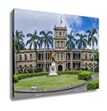 Ashley Canvas, King Kamehameha I Statue In Honolulu Hawaii, Home Decoration Office, Ready to Hang, 20x25, AG6406549
