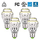 SANSI 150W Equivalent A19 Ceramic LED Light Bulb: 2000 Lumens 5000K Daylight ...