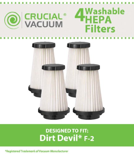 dirt devil f2 filter washable - 5